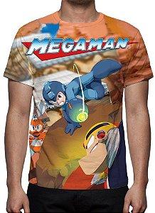 MEGAMAN - Camiseta de Games