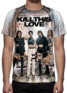 BLACK PINK - Kill This Love - Camiseta de Kpop