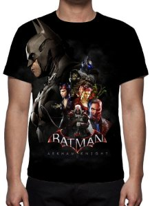 BATMAN - Arkham Knight - Camiseta de games