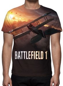 BATTLEFIELD 1 -  Modelo 2 - Camiseta de games