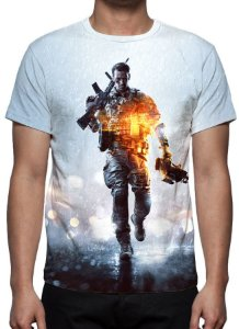 BATTLEFIELD 4 - Camiseta de games