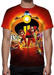 INCRÍVEIS 2, Os - Camiseta de Desenhos