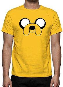 HORA DE AVENTURA - Jake - Camiseta de Desenhos