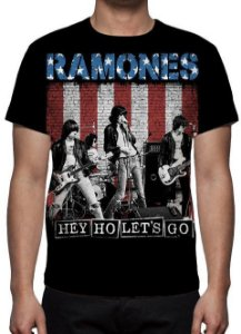 RAMONES - Hey Ho lets Go - Camiseta de Rock