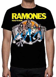 RAMONES - Road to the Ruin - Camiseta de Rock