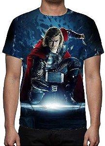 MARVEL - Thor Modelo 2 - Camiseta de Cinema