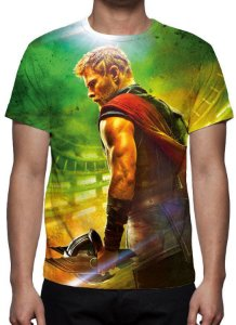 MARVEL - Thor Ragnarok - Camiseta de Cinema