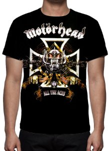 MOTORHEAD - All the Aces - Camiseta de Rock