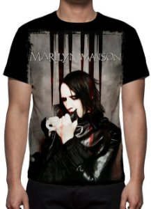 MARYLIN MANSON - Camiseta de Rock