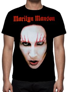 MARYLIN MANSON - Face - Camiseta de Rock