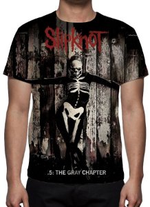SLIPKNOT - The Gray Chapter - Camiseta de Rock