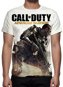 CALL OF DUTY - Advanced Warfare - Camiseta de Games