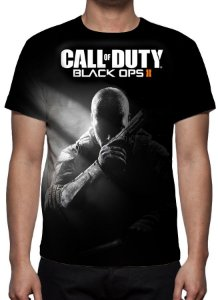 CALL OF DUTY - Black Ops II - Camiseta de Games