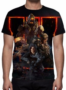CALL OF DUTY - Black Ops 3 Especialistas - Camiseta de Games