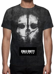 CALL OF DUTY - Ghosts - Camiseta de Games