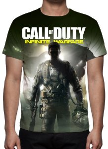 CALL OF DUTY - Infinite warfare - Camiseta de Games