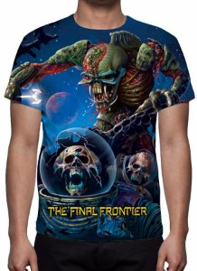 IRON MAIDEN - Final Frontier - Camiseta de Rock