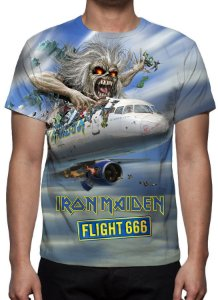 IRON MAIDEN - Flight 666 - Camiseta de Rock