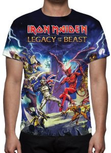 IRON MAIDEN - Lagacy of the Beast - Camiseta de Rock