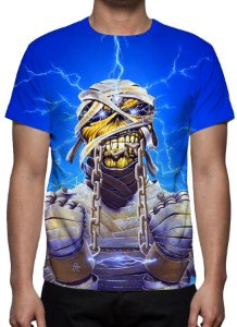 IRON MAIDEN - Lightning Energy - Camiseta de Rock