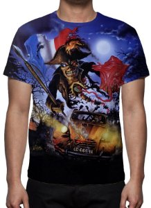 IRON MAIDEN - Live in Paris - Camiseta de Rock
