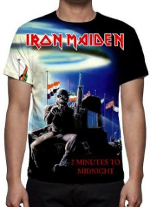 IRON MAIDEN - 2 Minutes to Midnight - Camiseta de Rock