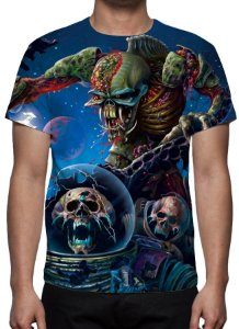 IRON MAIDEN - Modelo 1 - Camiseta de Rock