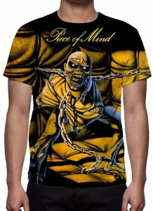 IRON MAIDEN - Piece of Mind - Camiseta de Rock