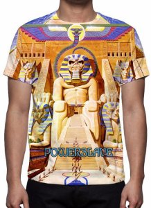 IRON MAIDEN - Powerslave - Camiseta de Rock