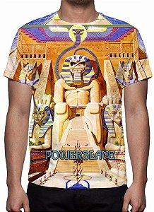 IRON MAIDEN - Powerslave - Camiseta de Rock