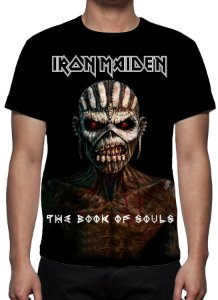 IRON MAIDEN - The Book of Souls - Camiseta de Rock
