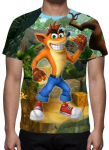 CRASH BANDICOOT - Camisetas de Games