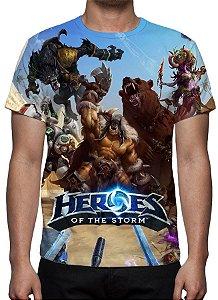 HEROES OF STORM - Modelo 2 - Camiseta de Games