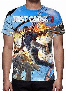 JUST CAUSE 3 - Camiseta de Games