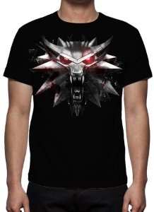 WITCHER 3, The - Escola do Lobo - Camiseta de Games