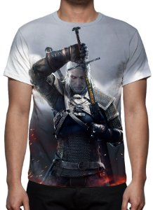 WITCHER 3, The - Geralt de Rivia Modelo 2 - Camiseta de Games