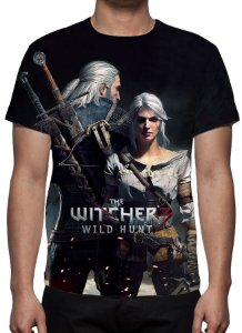 WITCHER 3, The - Geralt e Ciri - Camiseta de Games