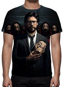 LA CASA DE PAPEL - 3º Temporada Professor - Camiseta de Séries