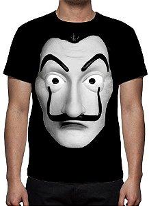 LA CASA DE PAPEL - Máscara Salvador Dali - Camiseta de Séries