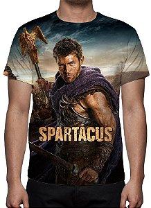 SPARTACUS - Camiseta de Séries