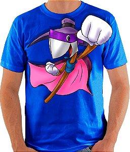 PAPO COM O MACHADO - Darkwing Machadinho - Camiseta de parceiros
