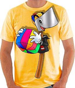 PAPO COM O MACHADO - Machadinho Quico - Camiseta de parceiros