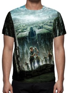 CORRER OU MORRER - The Maze Runner - Camiseta de Cinema