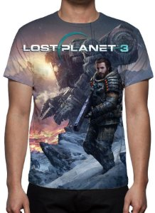 LOST PLANET 3 - Camiseta de Games