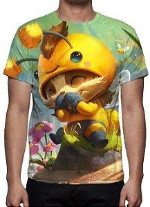 LEAGUE OF LEGENDS - Teemo Abelheemo - Camiseta de Games