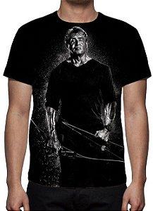 RAMBO 5 - Modelo 2 - Camiseta de Cinema