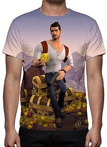 UNCHARTED - Fortune Hunter - camiseta de games
