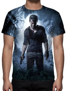 UNCHARTED 4 - A Thief´s End - Camiseta de Games