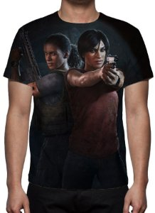 UNCHARTED 4 - The Lost Legacy - Camiseta de Games