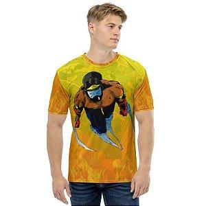 RZE - BOMBEIRO MASCARADO Avante - Camiseta de Heróis Brasileiros